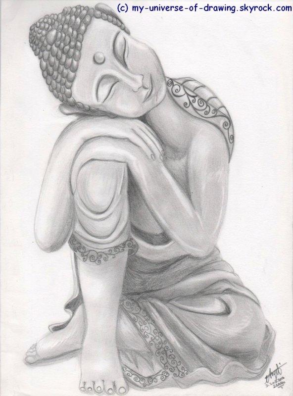 Statuette Zen
