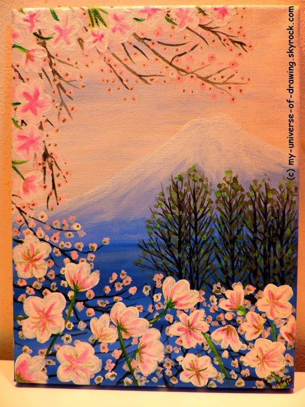 Fudji en Fleurs