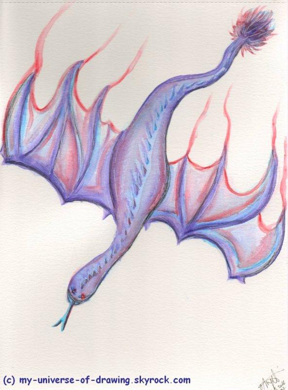 Un Dragon-Serpent-Chauve-Souris