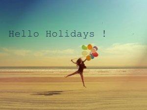 Vacances, j'oublie tout !