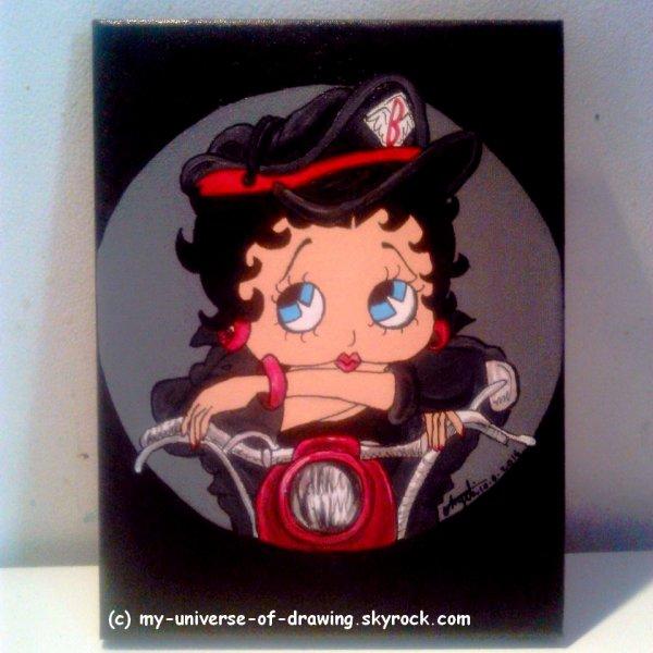 Betty Boop Motarde (une autre !)