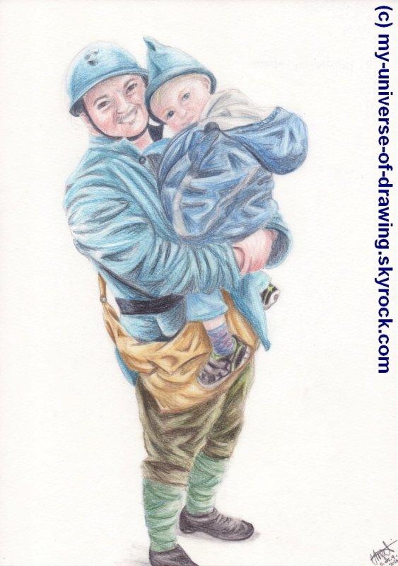 Le soldat et l'enfant