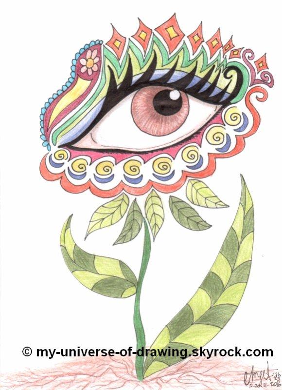Oeil Psychédélique