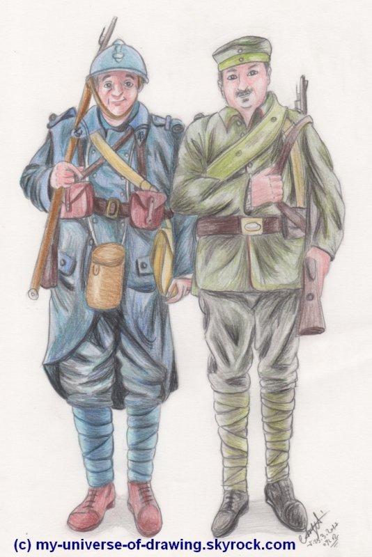 Costumes de la 1ère guerre mondiale