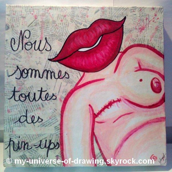 Acryliques et Dessins