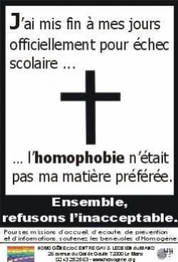 O.S concours : homophobie