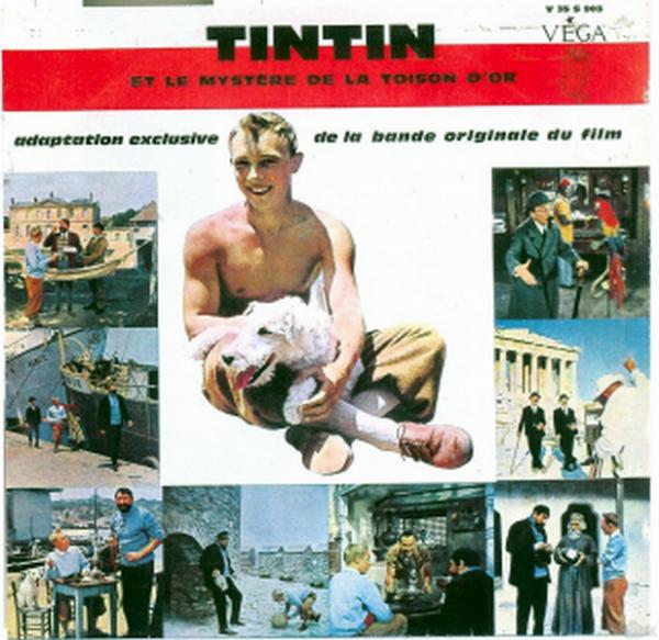TINTIN ET LE MYSTÈRE DE LA TOISON D'OR - 1961