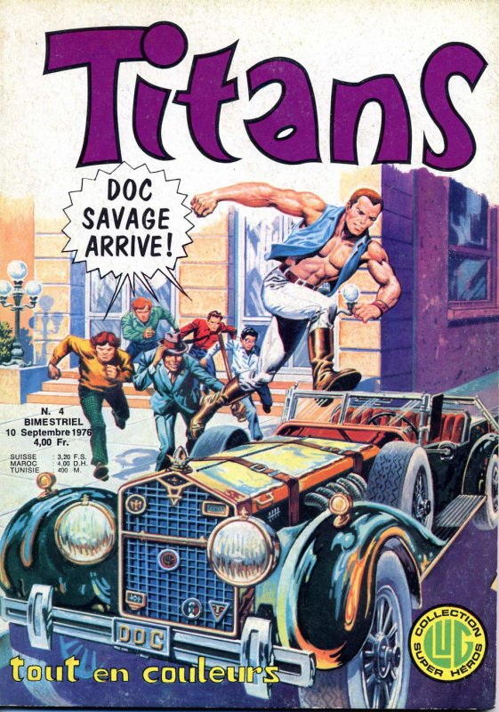 DOC SAVAGE ARRIVE - 1975