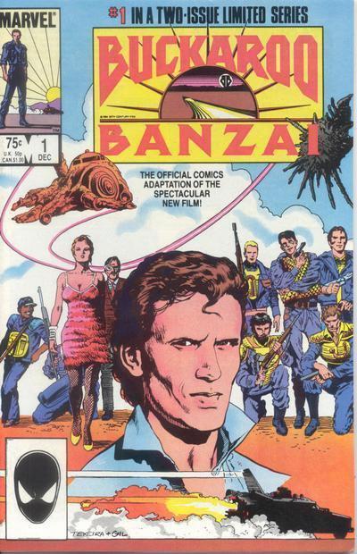 LES AVENTURES DE BUCKAROO BANZAI A TRAVERS LA 8eme DIMENSION - 1984