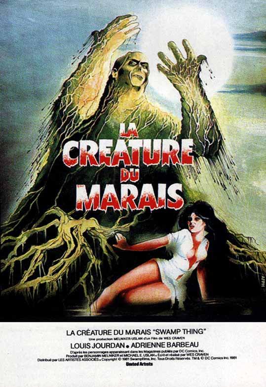 LA CRÉATURE DU MARAIS - 1982