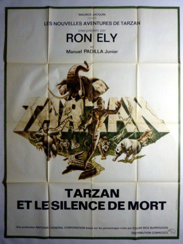 TARZAN ET LE SILENCE DE LA MORT - 1970