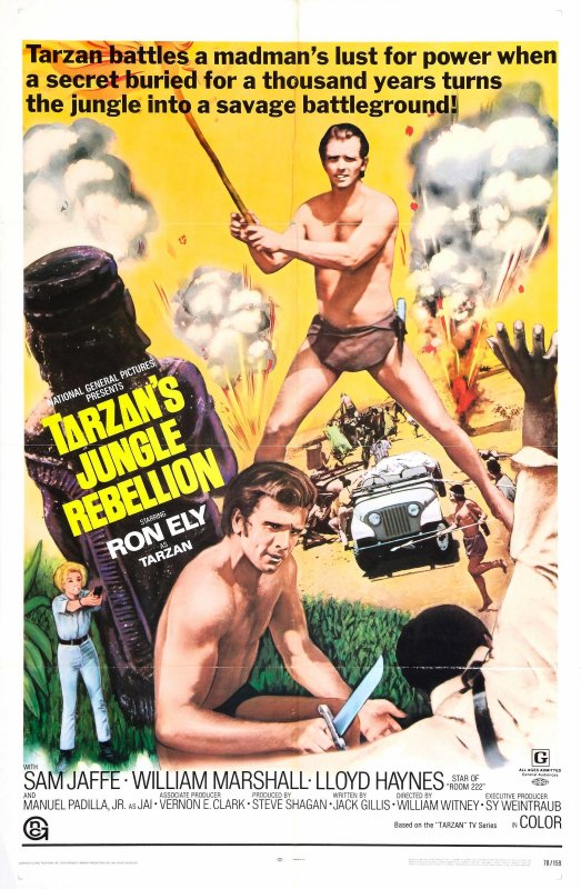 TARZAN ET LA RÉVOLTE DE LA JUNGLE - 1967
