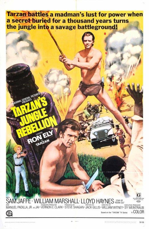TARZAN ET LA RÉVOLTE DE LA JUNGLE - 1967