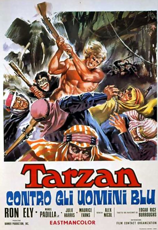 TARZAN AND THE FOUR O'CLOCK ARMY - 1968