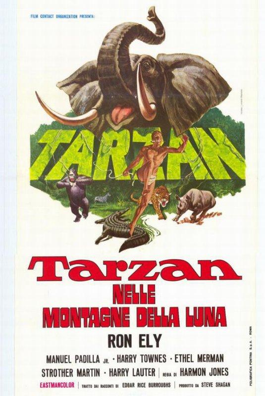 TARZAN ET LA TERRE PROMISE - 1967