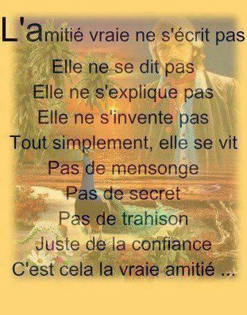 l'amitie...