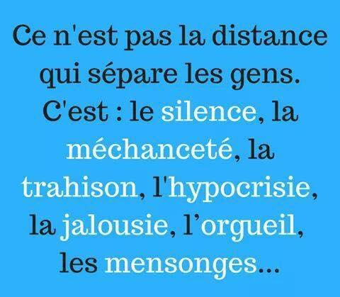 distance physique vs distance morale