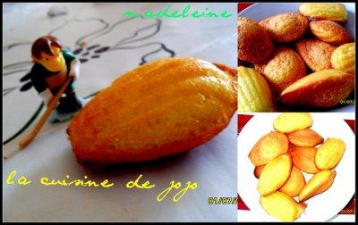 4eme recette : madeleine