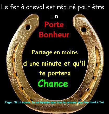 Porte Bonheur.....