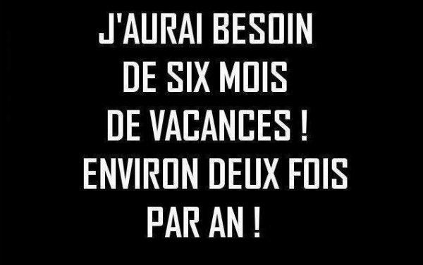 Vacances ouiiiiiiiiii !!!! :-)