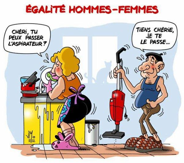 Égalité homme-femme ...