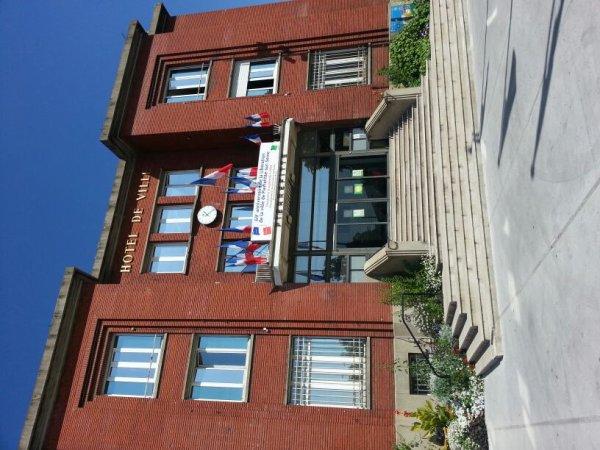 L'hôtel de ville Pierrefitte Sur Seine
