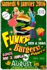 samedi 9 Janvier 2016 FUNKY BURGERS PARTY selection 100 % VINYL DISQUES by DJPATS