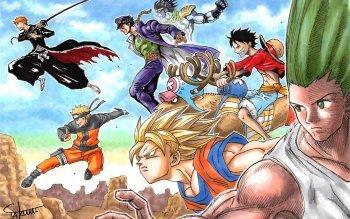 Les héros de manga
