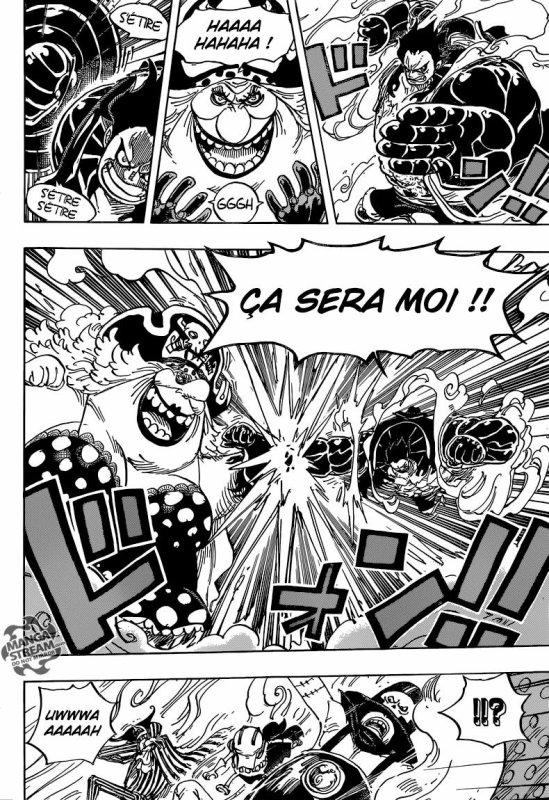 Luffy vs Big mom
