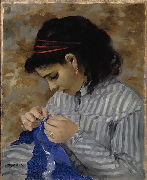 3 )  Lise cousant  (1866 )