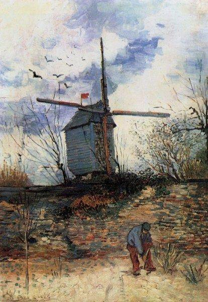 Vincent Van Gogh  :  le Moulin de la Galette.