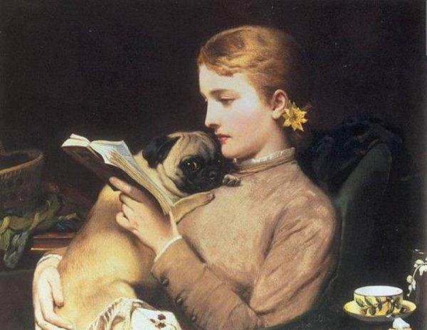 2 Tableaux De Charles Burton Barber Peintre Anglais 1845 1894