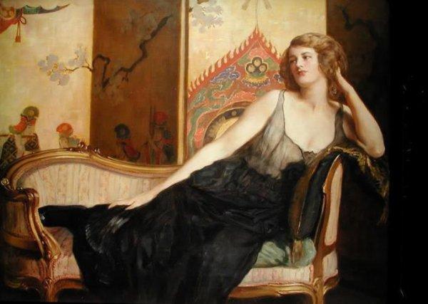 John Collier ,  peintre anglais  (1850-1934)
