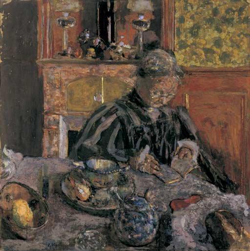 Bonne fête Mère-Grand  !    :-)    Edouard Vuillard   (1868-1940)