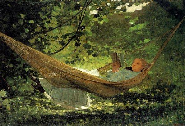 Homer Winslow ,  peintre américain (1836-1910)    /  1872.