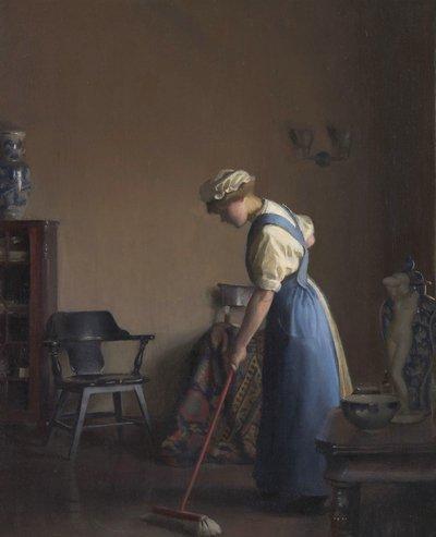 William Mc Gregor Paxton  ,  peintre américain (1869-1941 )  /  1912.