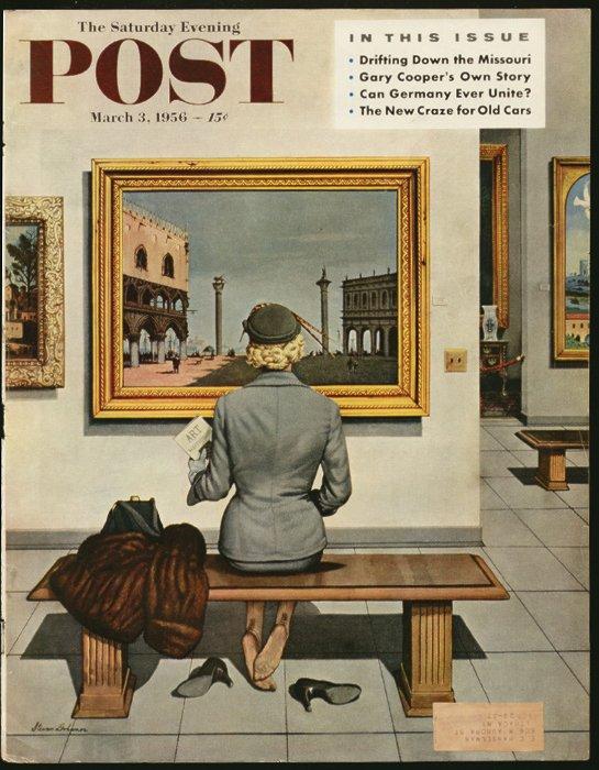 Stevan Dohanos,  illustrateur américain  (1907-1994)