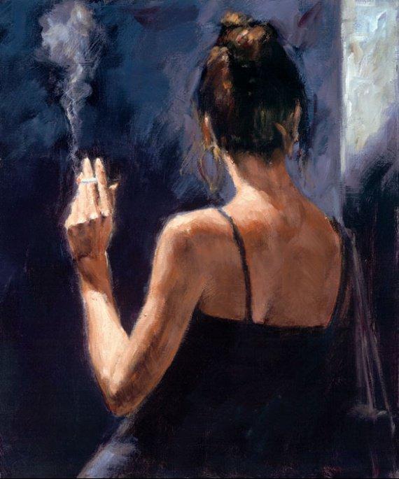 Fabian Perez , peintre argentin né en 1967.