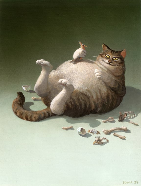 Michael Sowa    :    killer cat  (1994)