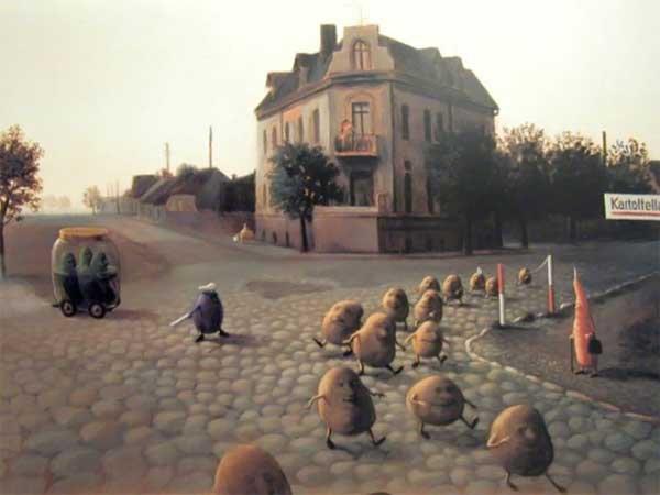 Michael Sowa , peintre allemand né en 1945