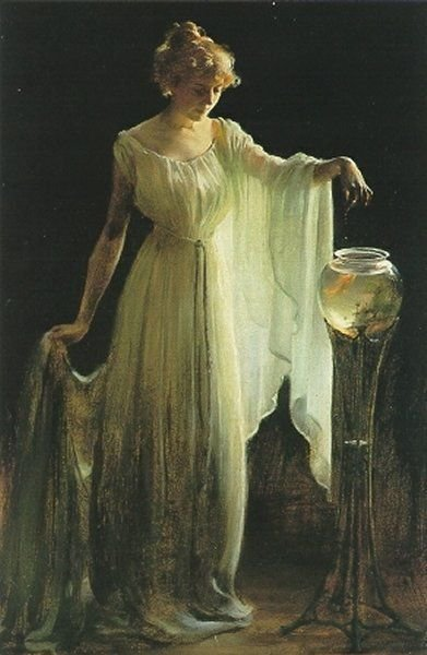 Charles Courtney Curran  [American Impressionist Painter, 1861-1942]