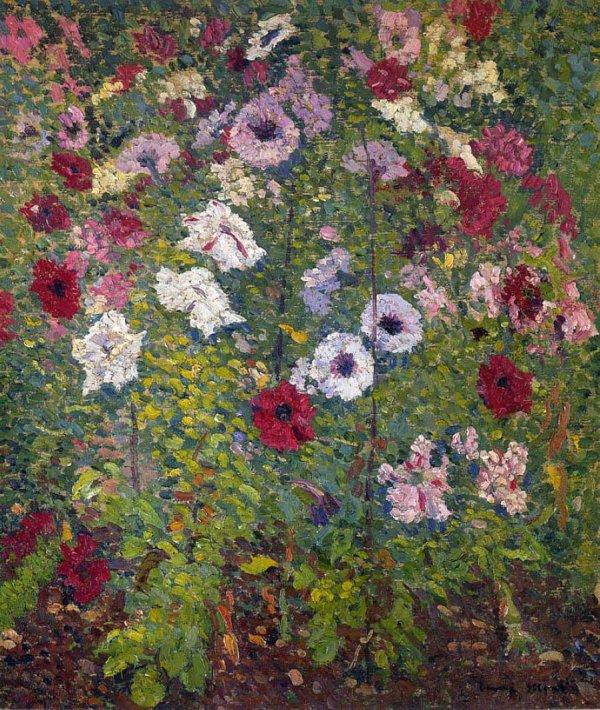 Henri Jean Guillaume Martin , post-impressionniste (1860-1936 ou 1943 ? , laissons le vivre plus longtemps...)