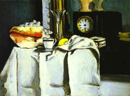 Paul Cézanne  , intérieur d' Emile Zola ( Le passage à l'heure d'été aura lieu dimanche 27 mars 2011 à 2 heures du matin... )