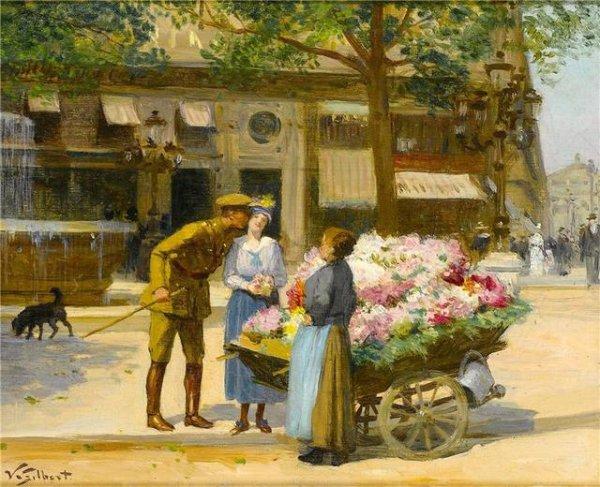 Victor Gabriel Gilbert  (1847-1933)
