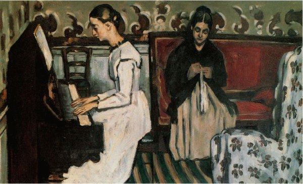Paul Cézanne , ca 1869.