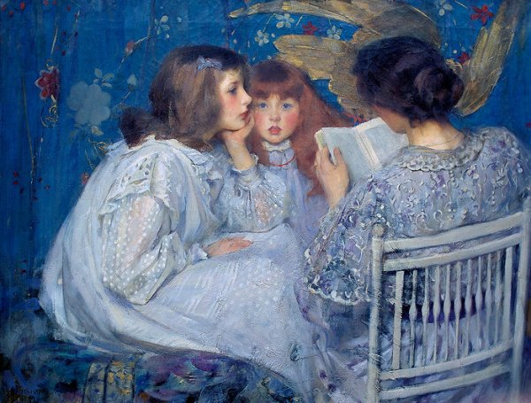 James Jebusa Shannon  ,  d 'origine irlandaise (1862-1923)    :   jungle tales (1895)