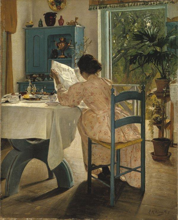 Laurits  Andersen  Ring   (1854-1933)   /  1898
