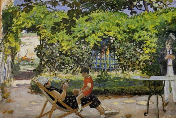 André Albert (1869-1954)    :   la tonnelle (1926)