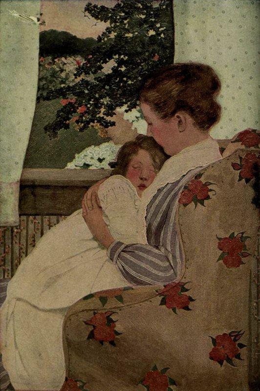 Bonne fête à toutes les mamans  !  /   Ethel Franklin Betts  (1878-1956)