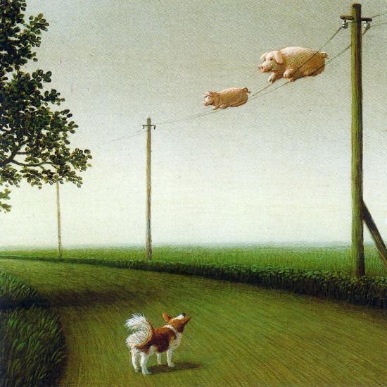 Le Michael Sowa du jour   :   retour des cochons migrateurs...